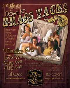 down to brass tacks flyer